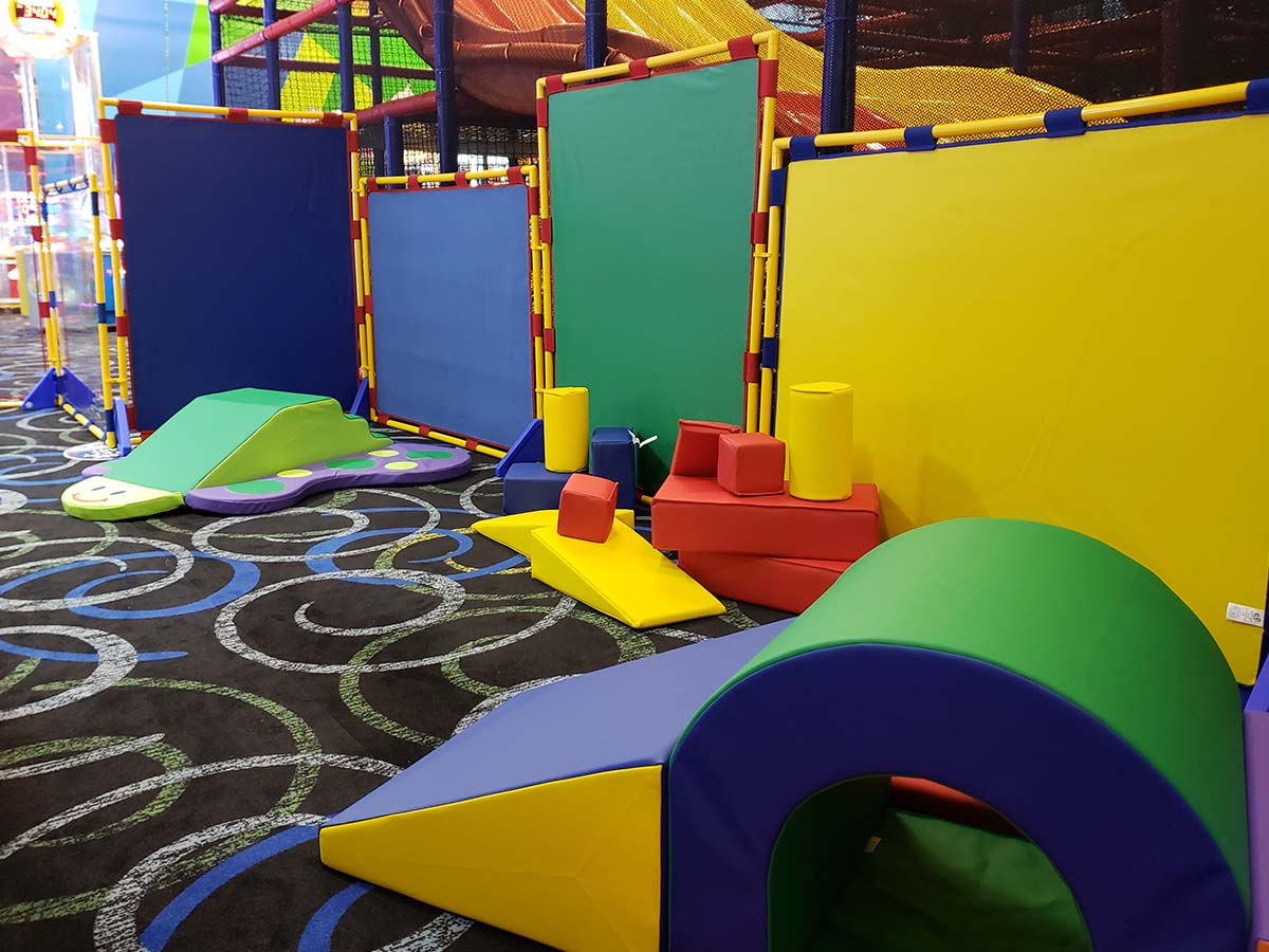 Let you toddler play in the new Toddler Town