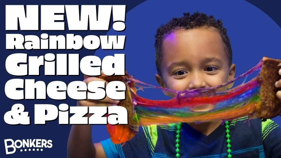 Rainbow Food at Bonkers