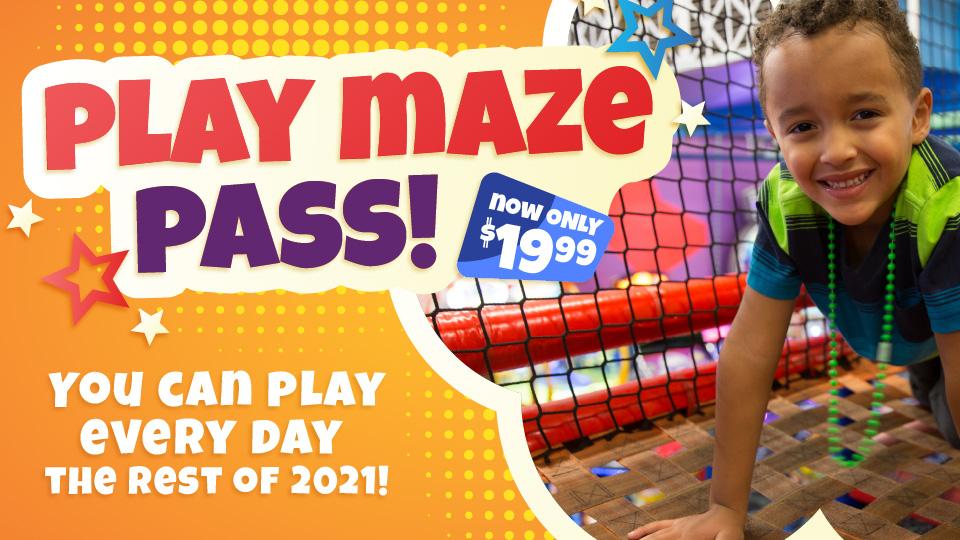 Bonkers Play Maze Pass