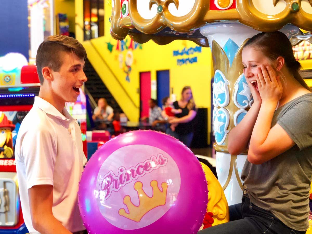 Win big in the Bonkers arcade