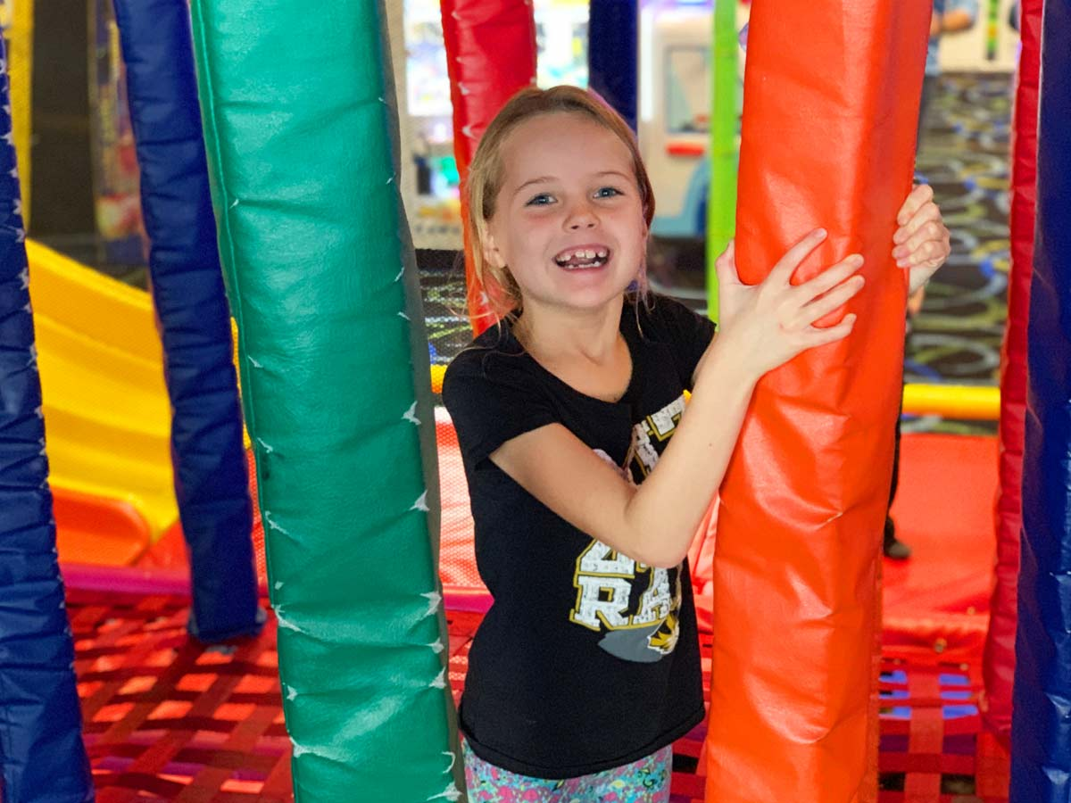 The Bonkers Play Maze is so much FUN!