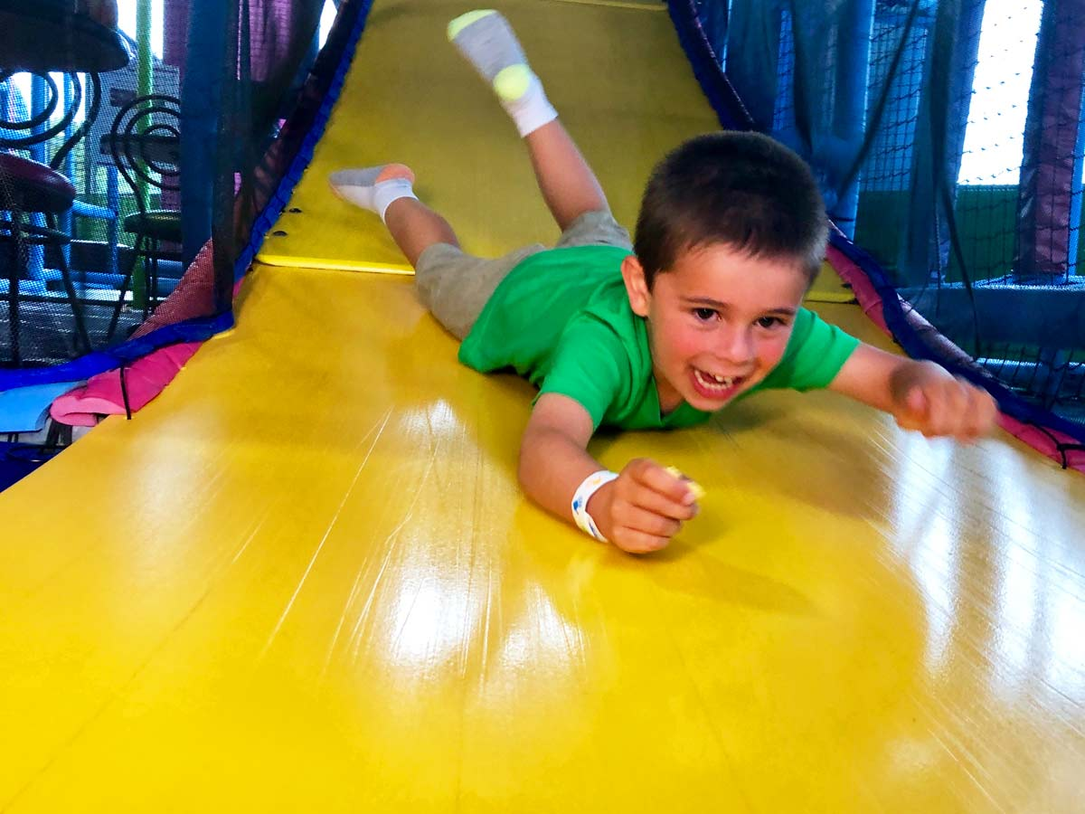 Slide into our Play Maze at Bonkers