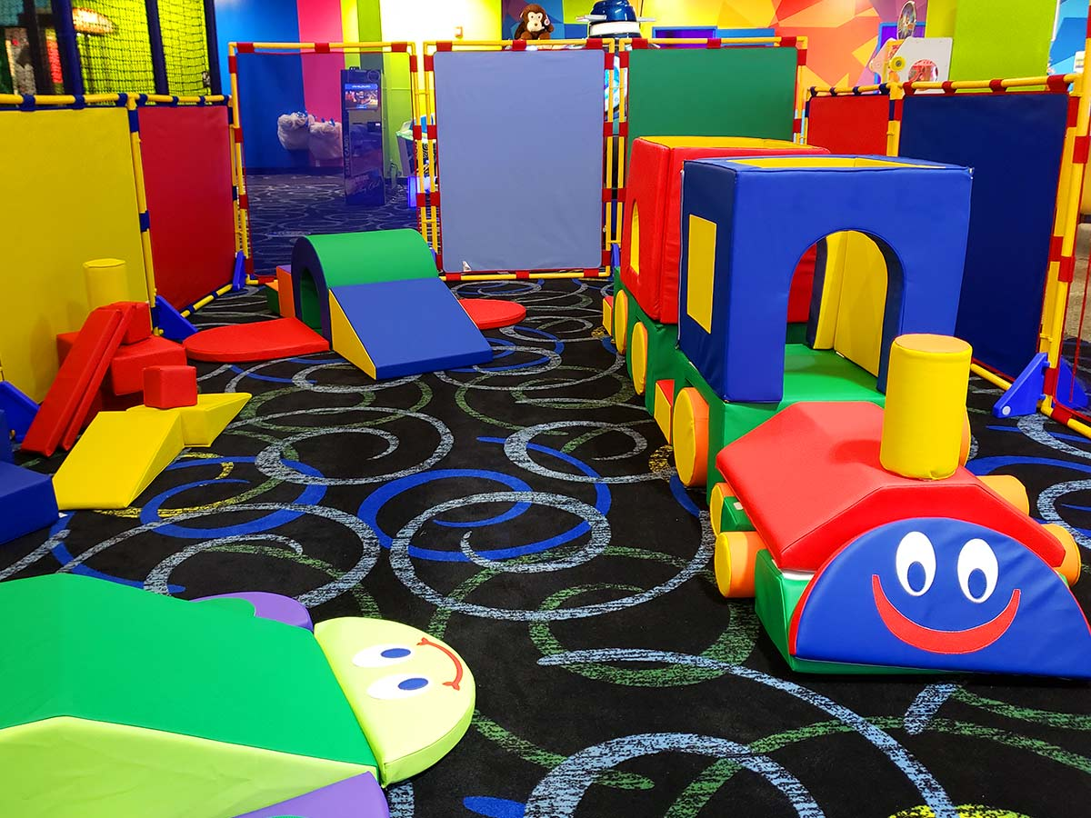 Bonkers Toddler Town is the best place for little kids to play safely