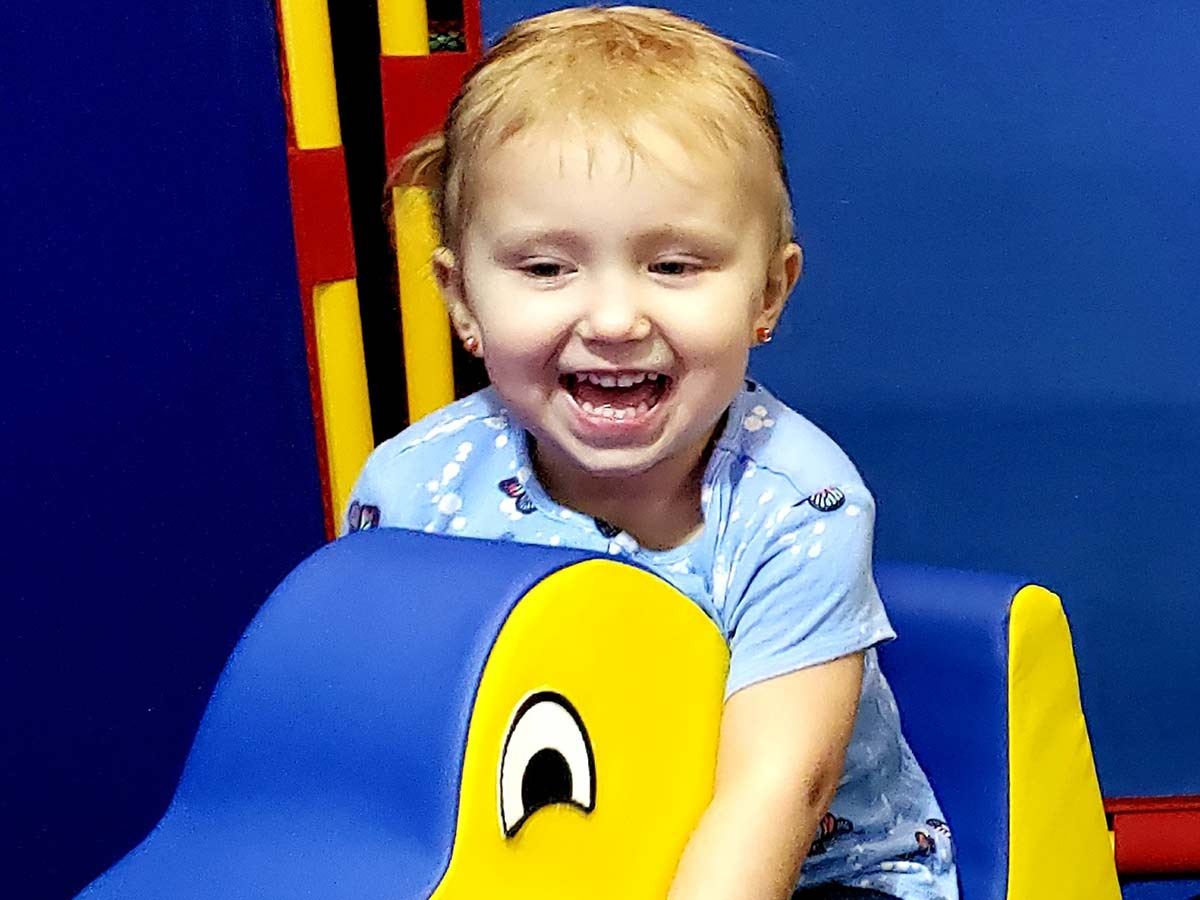 Smiles miles wide at Toddler Town
