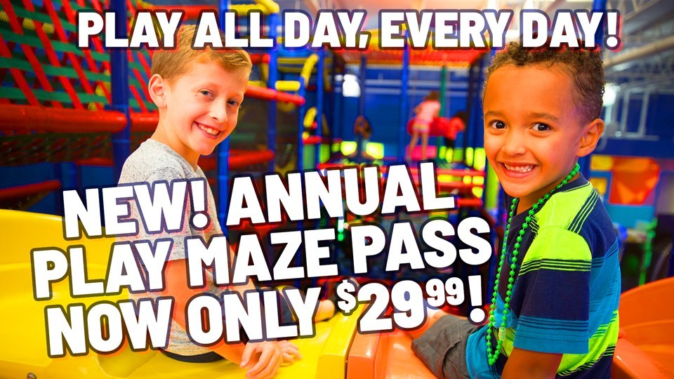 Bonkers Annual Pass
