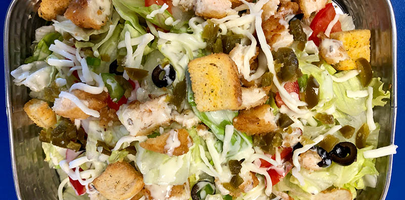 Delicious salads made with the freshest ingredients are at Bonkers