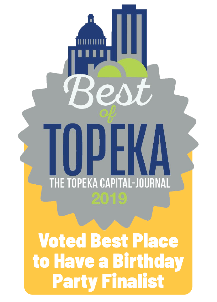 Voted Best of Topeka Best place to have a birthday party