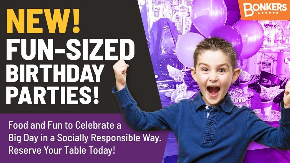NEW Fun-Sized Birthday Parties